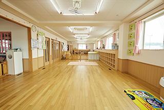 0,1歳児の保育室